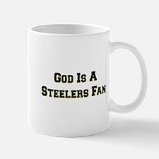 God Is A Steelers Fan Mug