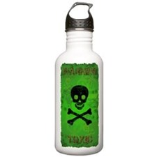 Funny Toxic Waste Sports Water Bottle