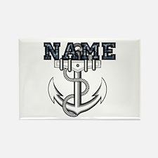Custom Anchor #1 Rectangle Magnet (10 pack)