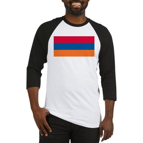 Armenian Flag Baseball Jersey