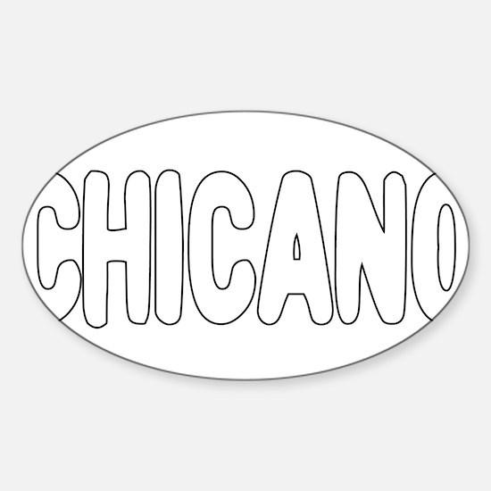 CHICANO Sticker (Oval)