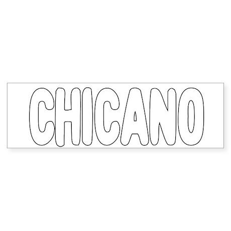 CHICANO Sticker (Bumper)