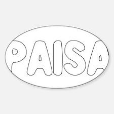 PAISA Decal