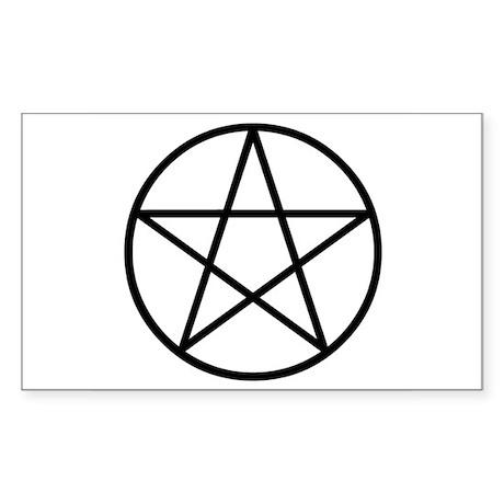 Pentacle Rectangle Sticker