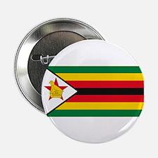 "Zimbabwe Flag 2.25"" Button (10 pack)"