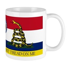 Dont Tread on Me Missouri Mug