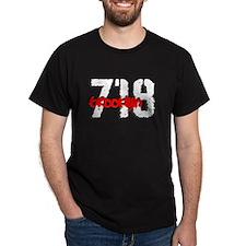 """""""BROOKLYN 718"""" Black T-Shirt"""