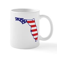 FL USA Flag Map 1 Mug