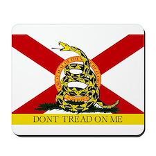 Don't Tread on Me Florida Mousepad