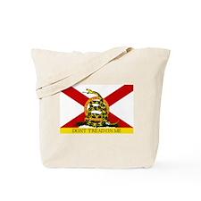 Don't Tread on Me Florida Tote Bag