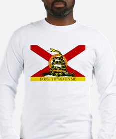 Don't Tread on Me Florida Long Sleeve T-Shirt