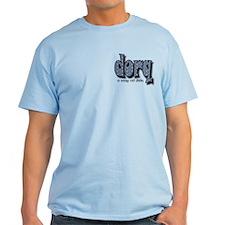 Golf shirt and pocket logo on T-Shirt