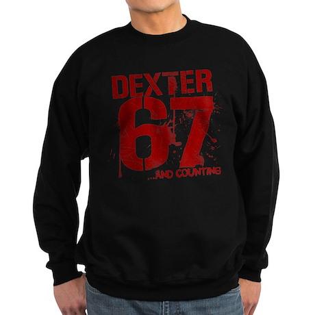 Dexter 67 kills and counting Sweatshirt (dark)