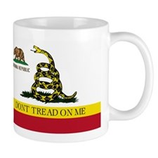 Don't Tread on Me California Mug
