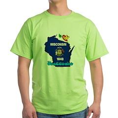 ILY Wisconsin T-Shirt