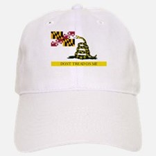 Don't Tread on Me Maryland Baseball Baseball Cap