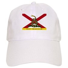 Don't Tread on Me Alabama Baseball Baseball Cap