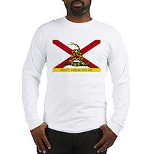 Don't Tread on Me Alabama Long Sleeve T-Shirt