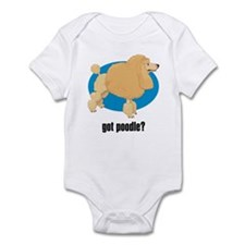 Poodle 3 Infant Bodysuit