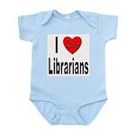 I Love Librarians Infant Creeper
