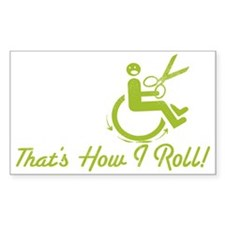 That's How I Roll Decal