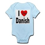 I Love Danish Infant Creeper