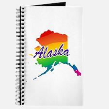 State Alaska Rainbow Journal