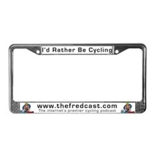Fred's License Plate Frame