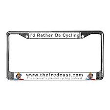 Fred's License Plate Frame