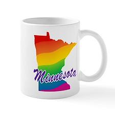 Gay Pride Rainbow Minnesota Mug