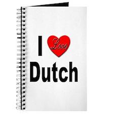 I Love Dutch Journal