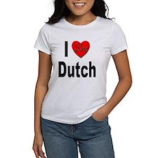 I Love Dutch Tee