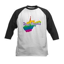Gay Pride Rainbow West Virginia Tee