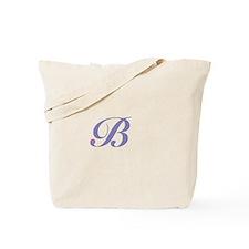 Initial B Tote Bag