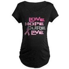 Love Hope Cure Live T-Shirt