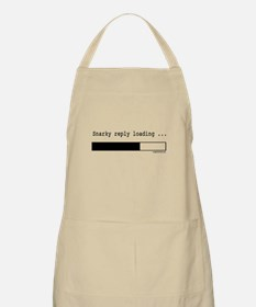 Snarky reply loading Apron