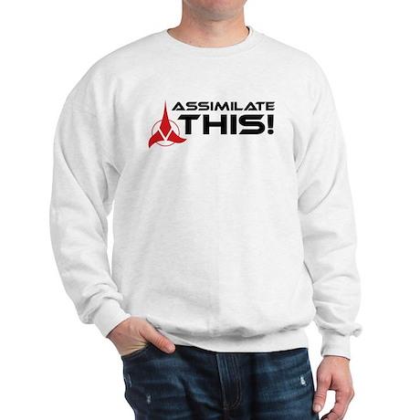 Worf: Assimilate This Sweatshirt