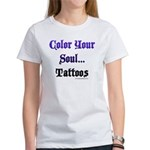 Color Your Soul Women's T-Shirt