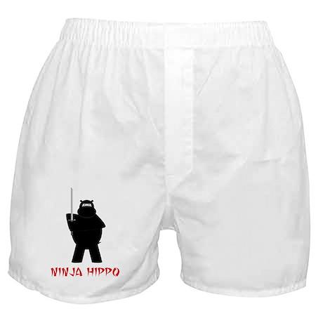 Ninja Hippo Boxer Shorts