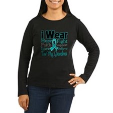 Grandma Ovarian Cancer T-Shirt