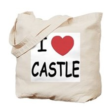 I heart Castle Tote Bag