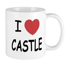 I heart Castle Mug