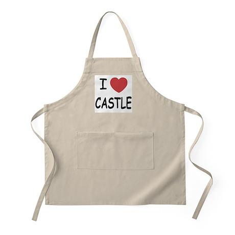 I heart Castle Apron