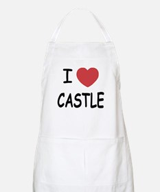 I heart Castle Apron