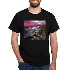 Sunset on Falmouth South Beac T-Shirt