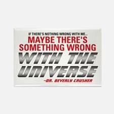 Star Trek TNG: Dr. Crusher Quote Rectangle Magnet