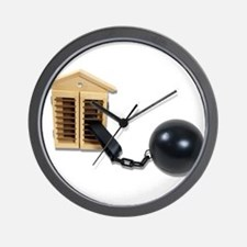 House Ball and Chain Wall Clock
