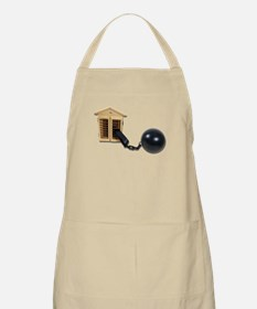 House Ball and Chain Apron