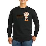Halloween Help Long Sleeve Dark T-Shirt