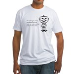 Halloween Help Fitted T-Shirt